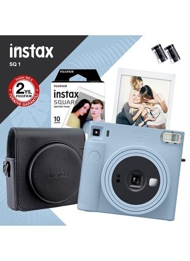 Fujifilm Instax Sq1 Buz Mavi Fotoğraf Makinesi Ve Hediye Seti 3 Mavi